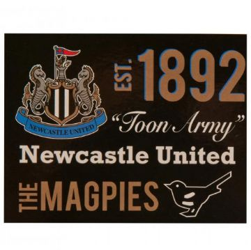 Newcastle United Sherpa Fleece Blanket EST